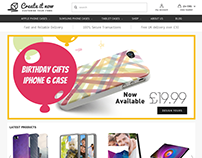 Phone Cover - E Commerce Site
