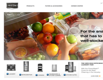 Maytag.com and Whirlpool.com Redesign