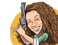 Petia caricature