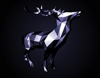 LOW POLY 3D // Deer