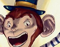 Symon, the monkey!