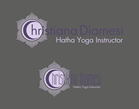 Business Card for Hatha Yoga instructor