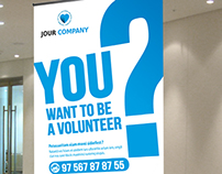 Volunteer Banner or Rollup