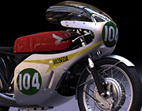 RC166 Nurbs Model Project (Alias Autostudio)