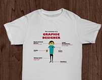 Graphic and 3D artist T-shirt Designs
