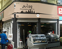 Redesigning pop-up shop Wag in Brixton, London