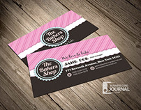 Fancy Bakery Business Card Template