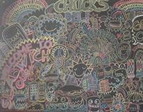 Chuck's Deli Mural
