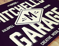Mitchell's Garage Branding: First Looks