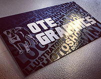 OTE Graphics Business Card (w. Spot UV)