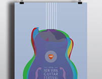New York Guitar Festival, Event Identity