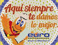 Feria de las Flores 2013. Euro Supermercados