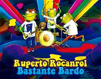 """""""Ruperto Rocanrol - Bastante bardo"""" Arte cd /album art"""
