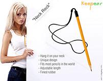 Keepear - wooden pencil enhancer