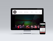 Web design for Atlanta Chinese Music Orchestra