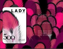 GIFT CARDS. LADY COLLECTION