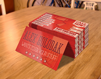 Promotional Materials: Alex Holodak