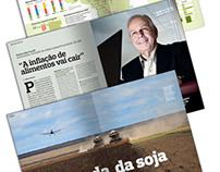 Graphic project - Globo Rural magazine