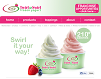 Twirl & Swirl Frozen Yogurt