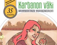 Kartanon Väki 1/2013 – Malminkartanon kaupunginosalehti