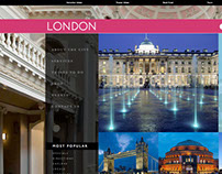 London Tourism website