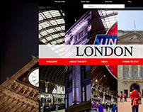 London Interactive website