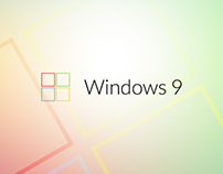Windows 9 - concept logo