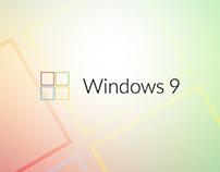 Windows 9 - concept logo