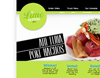 Lime Truck website