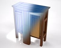 Aquarium cabinet / Mueble para acuario