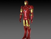 Ironman 3D model - Solidworks