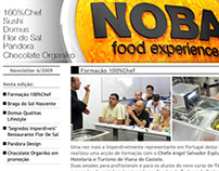 Newsletters for Gastronomic events and gourmet store