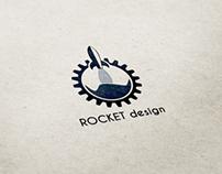 New Rocket design logotype