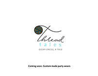 Thread tales - Brand name / Logo / Tagline