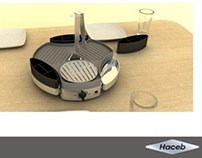 Concept design to Colombian arepas heater