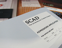 SCAD Admission Application Redesign