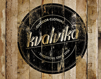 kvalvika outdoor clothing - branding
