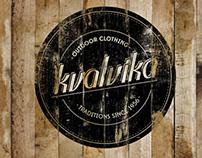 kvalvika outdoor clothing - branding