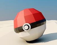 3D Pokemon Low Poly