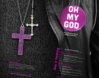 """Oh My God"" Conference Visual Identity"