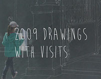 drawings with visits | 2009 |