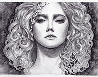 Portrait Drawing (Pencil)