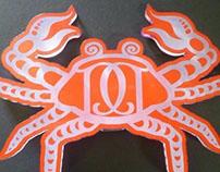 Destapa Crustaceos-tipografia