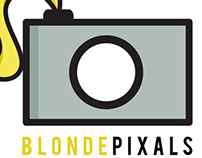 Blonde Pixals Photography Logo