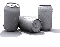 3D Cans with Condensation