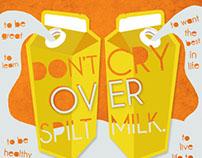 "Sobe Soy Milk - ""Don't Cry Over Spilt Milk"" Ad"