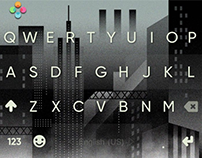 Fleksy Keyboard themes