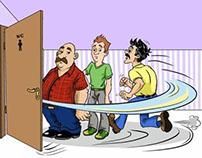 Illustrations for prostata cure