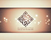 Glamour QR Code - AE TEMPLATE
