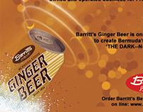 Barritts Ginger Beer Display Ad